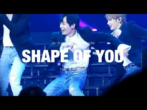 [4K] 171216 Shape of you - JBJ 용국 김용국 jinlongguo