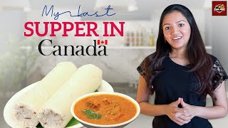 My Last Supper in Canada | Cooking Vlog | Puttu Fish Curry | Tamil Dude