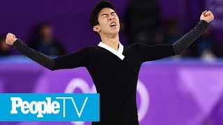 Nathan Chen Explains How He Pulled Off His Historic 6 Quadruple Jumps At The Olympics | PeopleTV