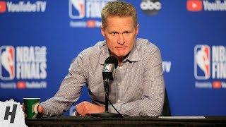 Steve Kerr Postgame Interview - Game 6 | Raptors vs Warriors | 2019 NBA Finals