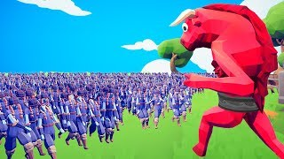 TABS How Many People To KILL A Mega MINOTAUR! (Totally Accurate Battle Simulator)
