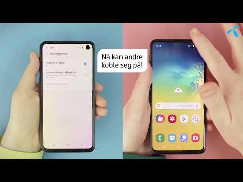 Helt enkelt: Slik deler du internett på Android | Telenor Norge