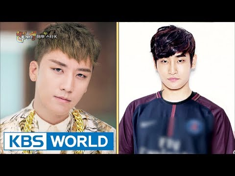 """Big Bang Seungri, """"Jaejung, are you a celebrity or what?"""" [Happy Together / 2017.07.13]"""
