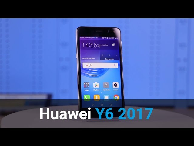 Belsimpel.nl-productvideo voor de Huawei Y6 (2017) Dual Sim Grey
