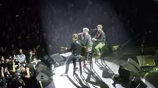 Adam Levine sings
