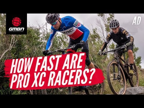 """How Fast Are The Pro XC Racers"""" 