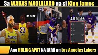 TARGET ni Lebron na Maglaro KONTRA Knicks! Grabe 24 Games Missed!