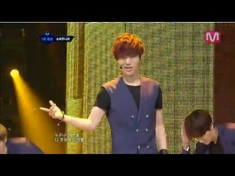 슈퍼주니어_Sexy Free & Single (Sexy Free & Single by Super Junior@Mcountdown 2012.07.19)