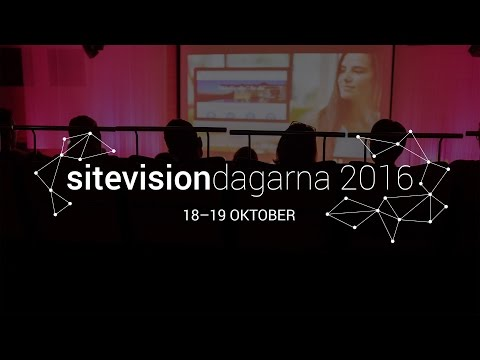 Vi ses på SiteVisiondagarna 2016