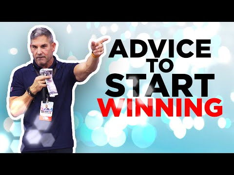 Advice to start winning - Grant Cardone photo