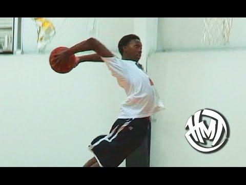 Куе Паркер е најдобриот забивач во американската средношколска кошарка