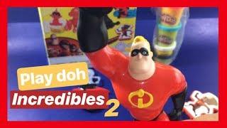 INCREDIBLES 2 Play Doh Disney Pixar 👈