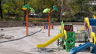 В парке на 17 километре ведётся благоустройство