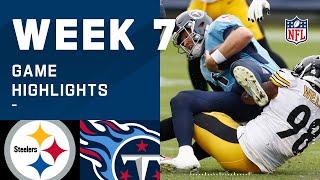 Steelers vs. Titans Week 7 Highlights   NFL 2020