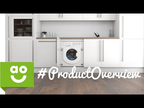 Hotpoint Integrated Washer Dryer BHWD129 Product Overview | ao.com