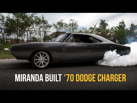 '70 Dodge Charger on e-Level | Miranda Built