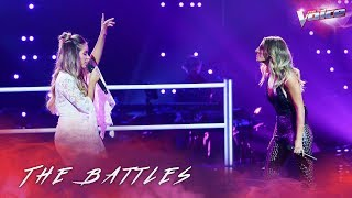 The Battles: Somer Smith v Jacinta Gulisano 'How Will I Know' | The Voice Australia 2018