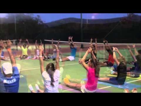 Campamento de Tenis - Yohny Romero - Lagunamar 2014