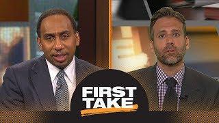 Will Magic Johnson get Kawhi Leonard to the Lakers next season? | First Take | ESPN