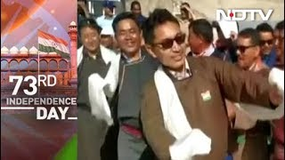 Watch: Ladakh MP, Praised By Prime Minister, Dances On Ind..