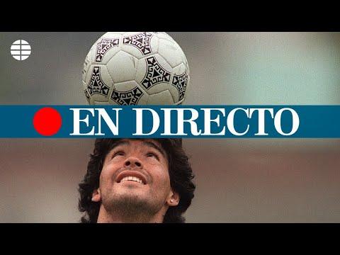 DIRECTO MARADONA I Argentina celebra el velatorio de Maradona en la Casa Rosada, en directo