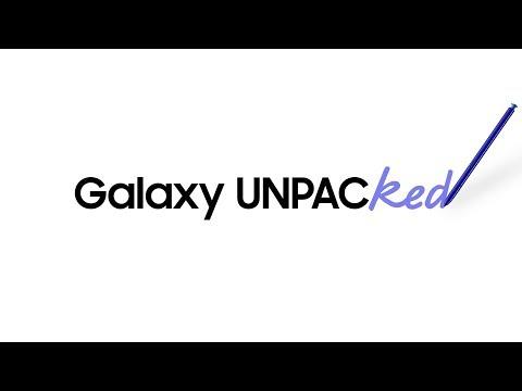 Galaxy Note10   Note10+: UNPACKED højdepunkter