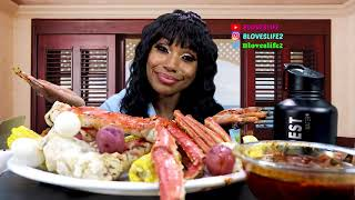 Seafood Boil with Smackalicious Sauce