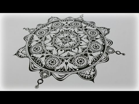 Zentangle Inspired Art #36