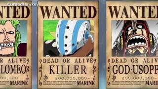[One Piece] Mức truy nã trong đảo hải tặc