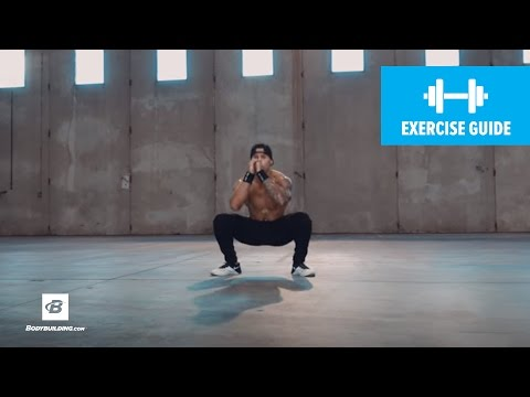 Wide-Stance Jump-Squat to Close-Stance | Exercise Guide