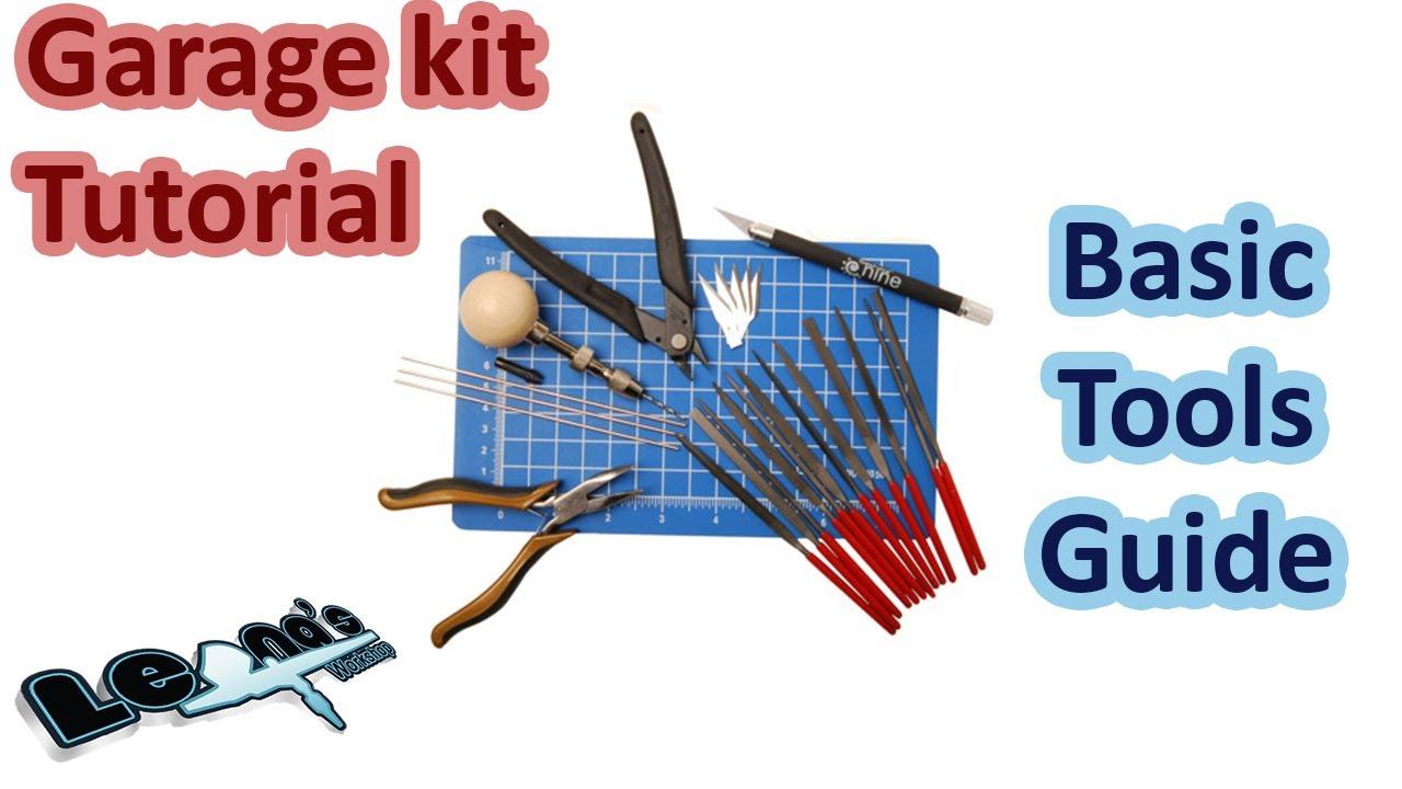 Garage Kit Tutorial Basic Tools Guide Youtube