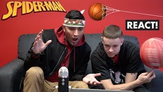 Spiderman Basketball Episode 2 Behind The Scenes React