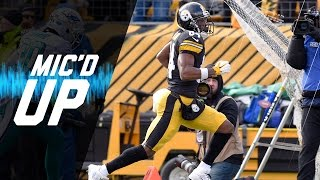 Dolphins vs. Steelers Mic'd Up Wild Card Highlights | NFL Films | Inside the NFL