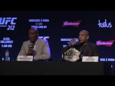 Najważniejsze Fakty z konferencji przed UFC 212. Silva i Aldo wciąż zainteresowani pojedynkami bokserskimi