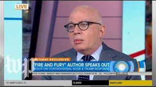 Michael Wolff's 'Today' show interview, annotated
