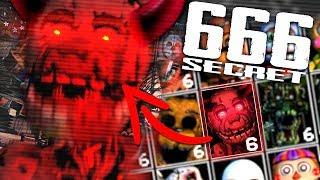Ultimate Custom Night SECRET 666 Mode... Unlocking Demon Springtrap! (SECRET MODE)