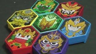 레전드 히어로 삼국전 영웅패 장난감 Legend Heroes Voice Pack Toys