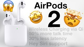 AirPods 2! Finally out now!
