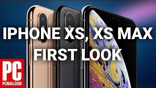 First Look at iPhone XS, XS Max