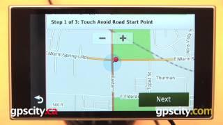 Garmin Nuvi 3597LMTHD: Custom Avoidances With GPS City