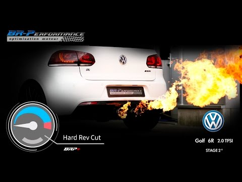 Hard Rev Cut VW Golf 6 R 2.0 TFSi Stage 2+