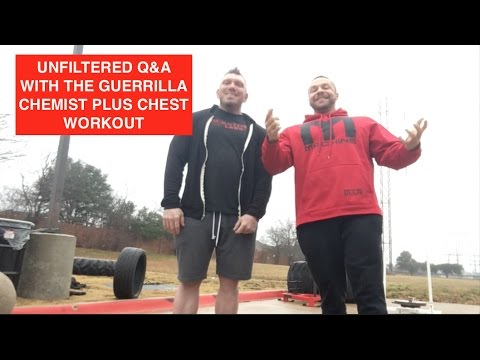 Guerrilla Chemist UNFILTERED Q&A SARMS, Creatine, Keto and More! PLUS Chest Workout