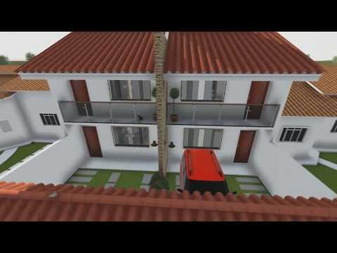 Duplex Casa Geminada Em 3d Maur Cio Rangel
