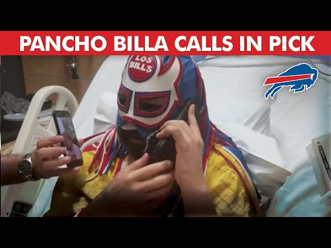 Pancho Billa Calls in the Bills First Round Draft Pick