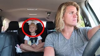When This Little Girl Asked Her Dad To Put On The Radio, His Response Left The Internet In Disbelief