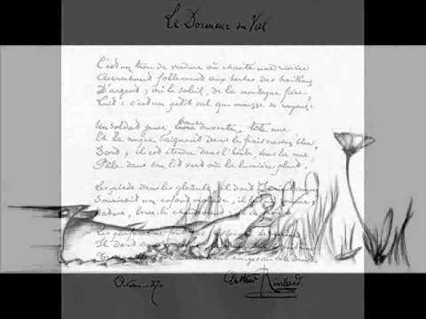 RIMBAUD, Arthur Le Dormeur du Val YouTube