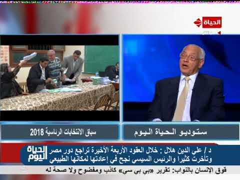 الحياة اليوم – د/علي الدين هلال :الإخوان هم من زرعوا الإرهاب وقاموا بالإفراج عن الإرهابيين من السجون