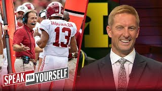 Joel Klatt joins Whitlock and Wiley to discuss the CFB playoff picture | CFB | SPEAK FOR YOURSELF