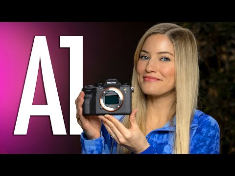 Sony A1 Unboxing!