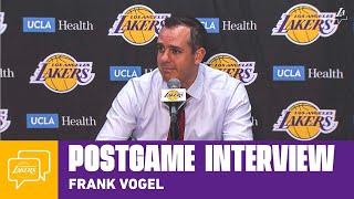 Lakers Postgame: Frank Vogel (12/8/19)
